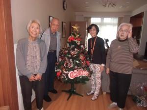 クリスマスツリー飾り付け@イリーゼ大宮櫛引